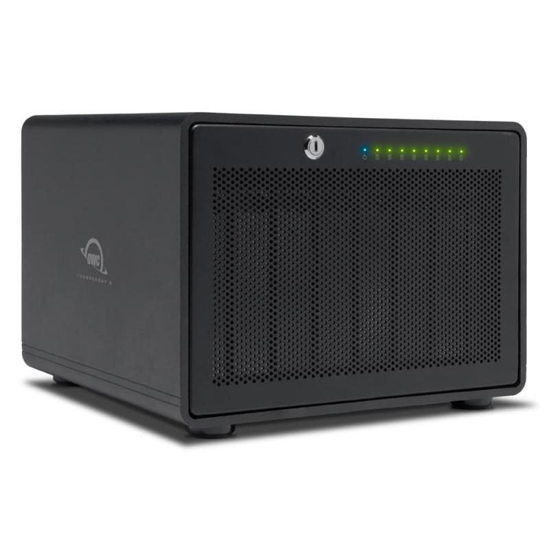 ThunderBay 8 TB3 Enclosure + SoftRAID XT