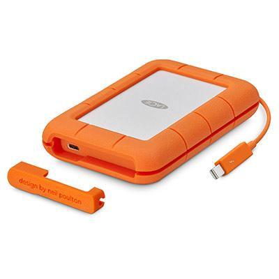LaCie - Disco Rugged Mobile Thunderbolt/USB-C 4 TB