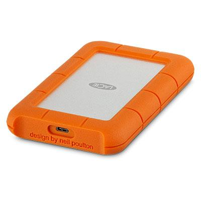 LaCie - Disco Rugged Mobile USB-C 5 TB