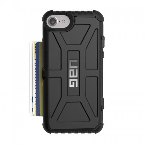 Urban Armor Gear iPhone 6/7/8 (4.7 Screen) Trooper Case-Black/Black