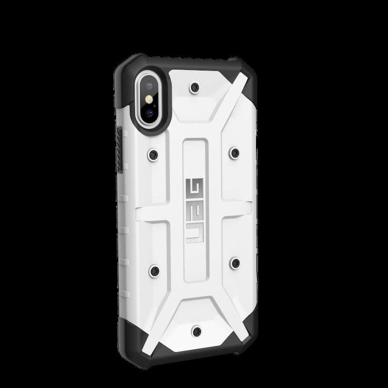 Urban Armor Gear iPhone X Pathfinder Case- White/Silver