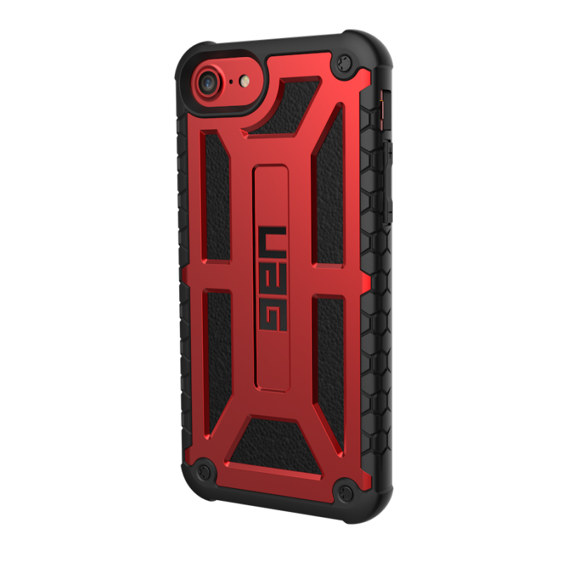 Urban Armor Gear iPhone 8/7/6S (4.7 Screen) Monarch Case-Crimson/Black