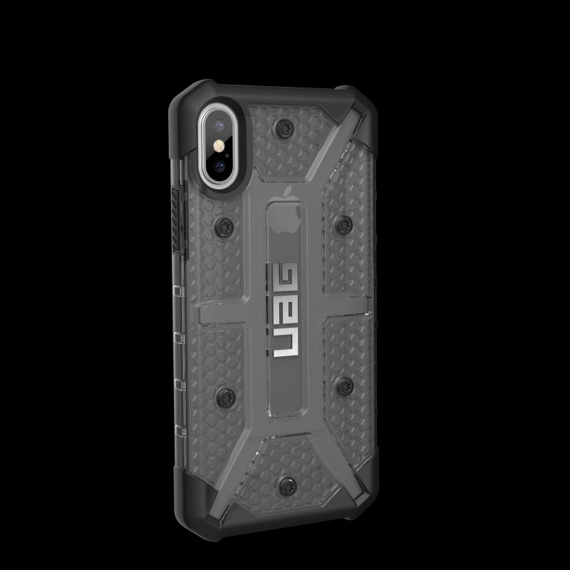Urban Armor Gear iPhone X Plasma Case- Ash/Black/Silver