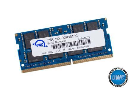 OWC - 16.0GB PC4-19200 2400MHz SO-Dimm w/Lifetime Warranty