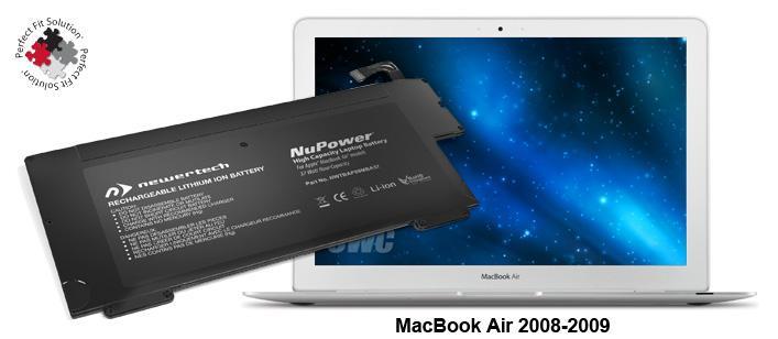 Battery MacBook Air 13' 2008-2009 + Tools