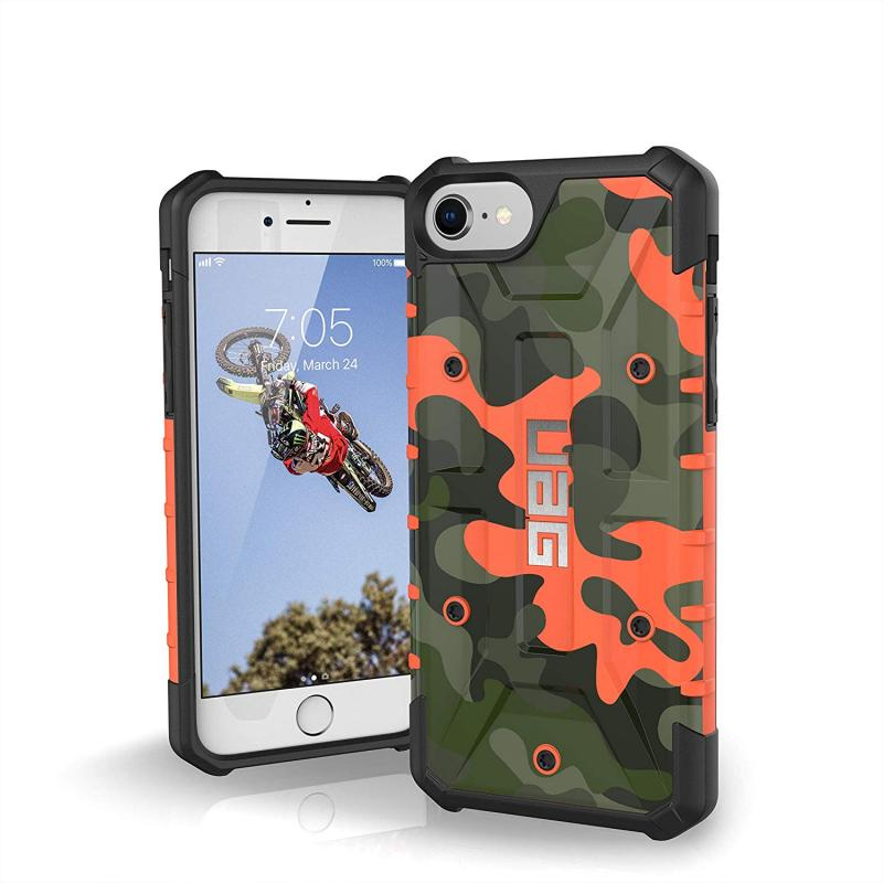 Urban Armor Gear iPhone 8/7/6S (4.7 Screen) Pathfinder Case-RustCamo/Black