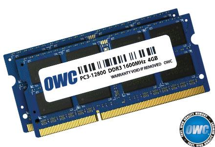 Memory 16GB KIT (2x8GB) SO-DIMM PC10600 1333MHz