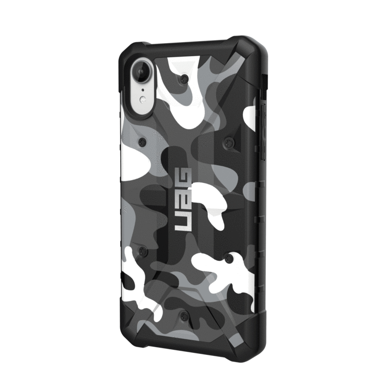 Urban Armor Gear iPhone XS / X (5.8 Screen) Pathfinder Case- WhiteCamo/Black