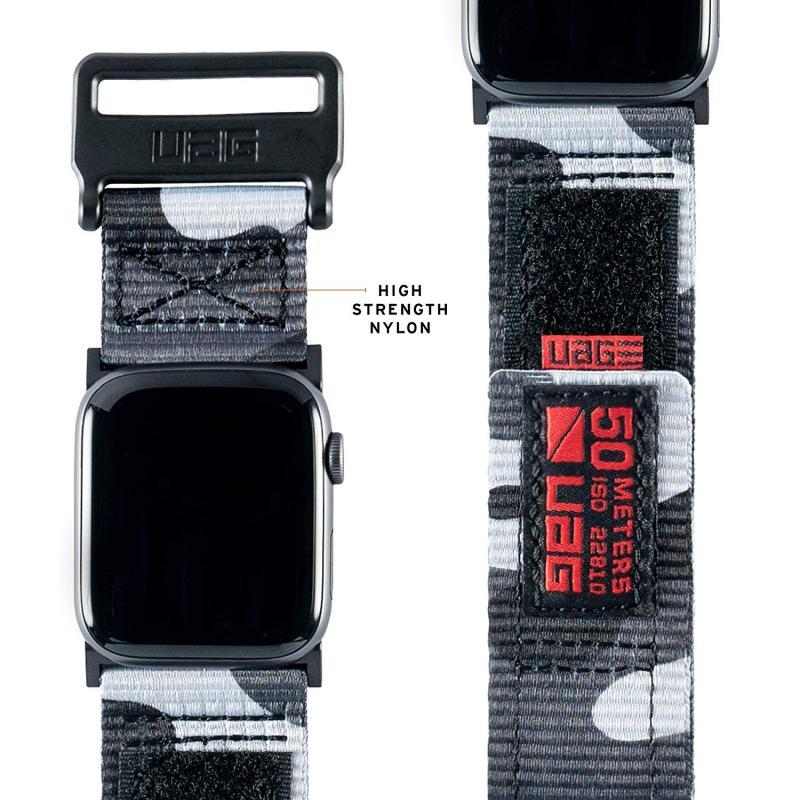 Urban Armor Gear Apple Watch 44'/42' Active Strap- Midnight Camo