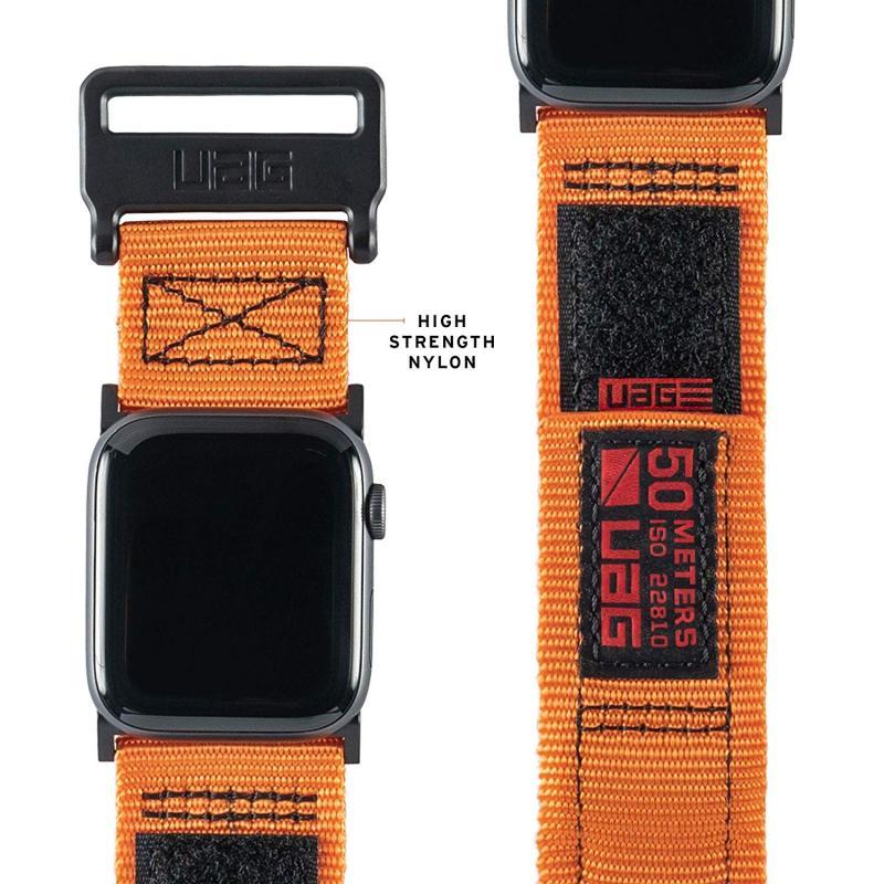 Urban Armor Gear Apple Watch 44'/42' Active Strap- Orange