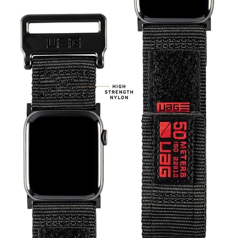 Urban Armor Gear Apple Watch 44'/42' Active Strap- Black
