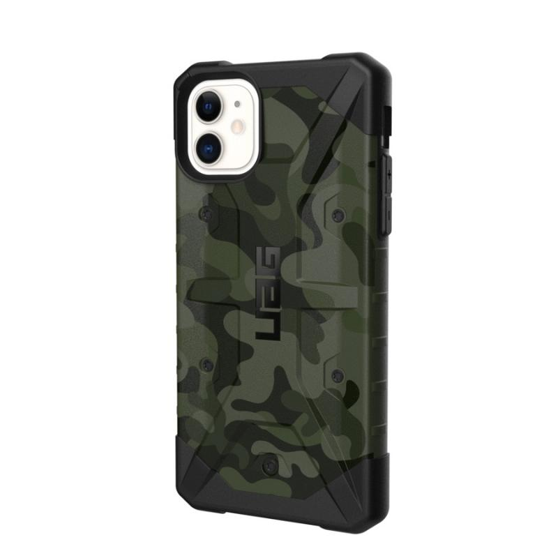 Urban Armor Gear Apple iPhone 11 Pro Max (6.5') Pathfinder- Forest Camo