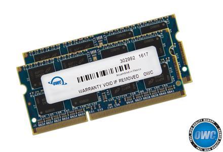 OWC - Memory 16GB Kit (2x8GB) SO-DIMM PC3-14900 1867MHz