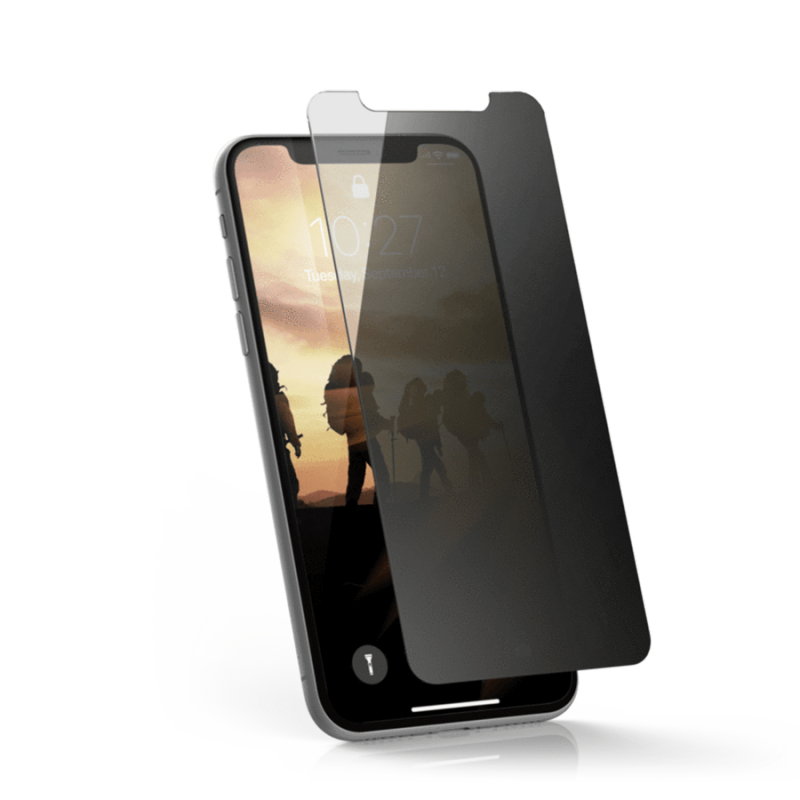 Urban Armor Gear iPhone XS / X / 11 Pro  (5.8 screen) Privacy Glass Screen Protector