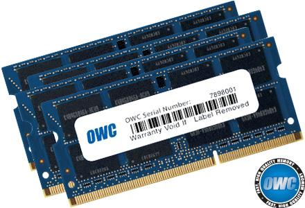 OWC - Memory 32GB Kit (4x8GB) SO-DIMM PC3-12800 1600MHz