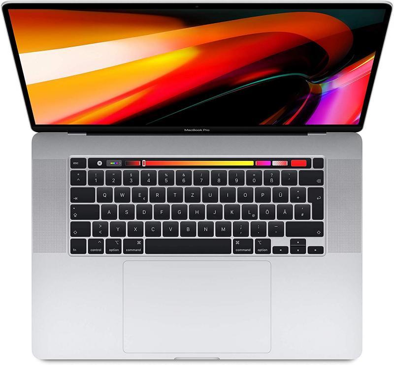 MacBook Pro 16' TBar i7 6-core/2.6GHz/16GB/RP5300M/512GB - Prateado