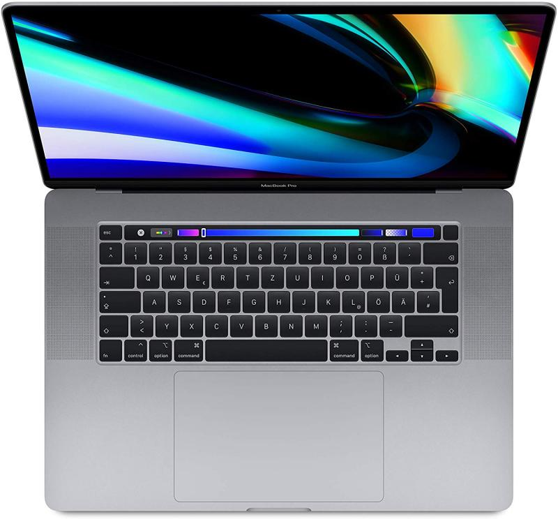 MacBook Pro 16'TBar i7 6-core/2.6GHz/16GB/RP5300M/512GB - Cinzento Sideral