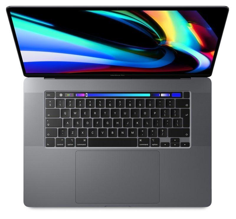 MacBook Pro 16' TBar i9 8-core/2.3GHz/32GB/RP5500M/1TB SSD - Cinzento Sideral