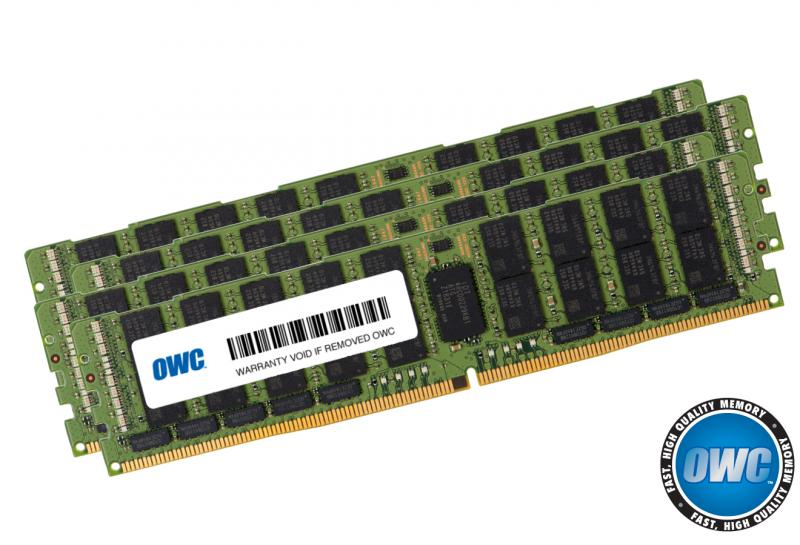 4 x 16GB PC21300 2666MHz DDR4 RDIMM for Mac Pro 2019 8-Core mode