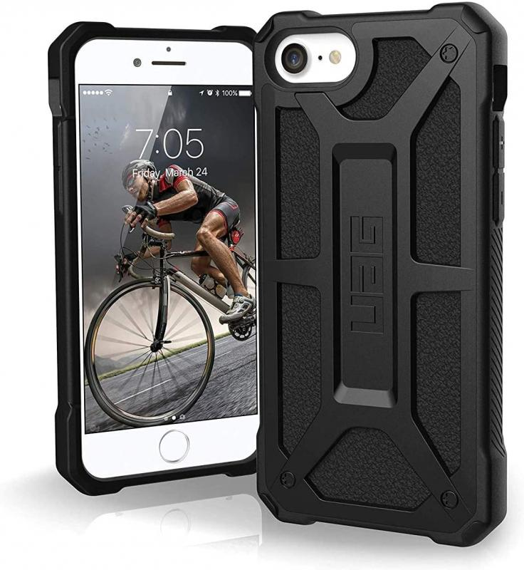 Urban Armor Gear Apple SE 2020 Monarch- Black - 5 layer protection- 2x drop-tested- 10 yr warranty