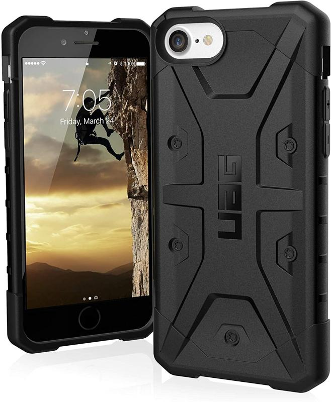 Urban Armor Gear Apple SE 2020 Pathfinder- Black - Impact Resistant- Featherlight- Drop Tested