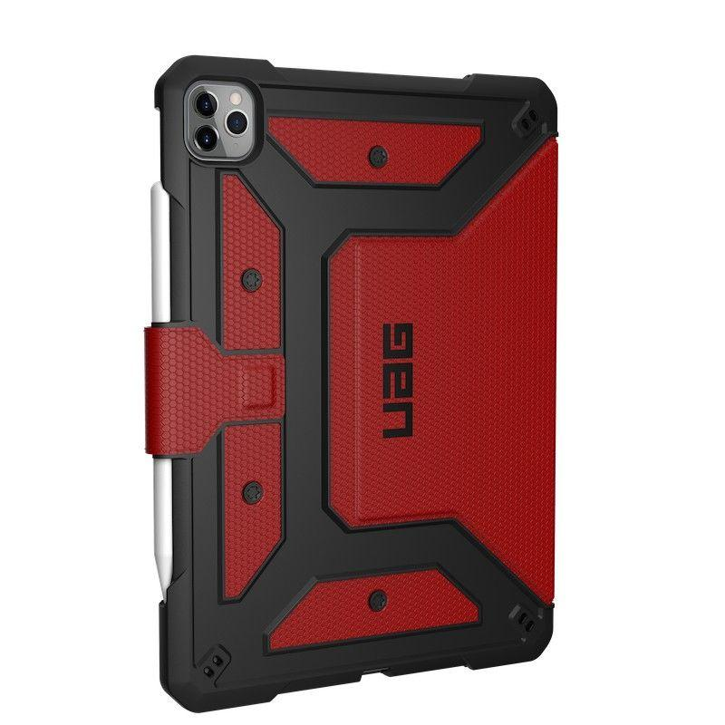 Urban Armor Gear Metropolis Series iPad Pro 12.9' Case (4th Gen, 2020) - Magma