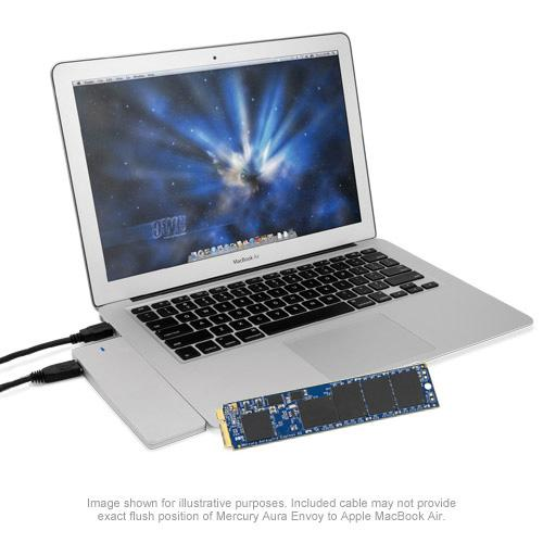 Aura Pro 6G SSD for MacBook Air 2010 / 2011 1TB Kit