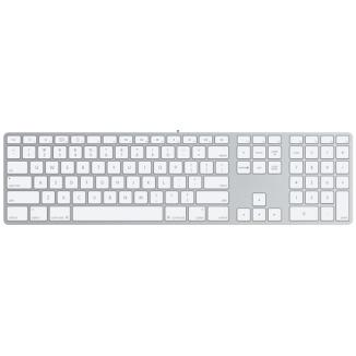 Apple - Apple USB Keyboard Aluminum PO