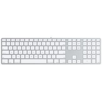 Apple - Apple USB Keyboard Aluminum PO