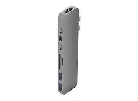 HyperDrive PRO HUB PARA USB-C MACBOOK PRO CINZA